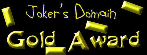 Joker's Domain Gold Award